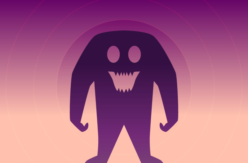 Cute Monster Free Vector Free Photo