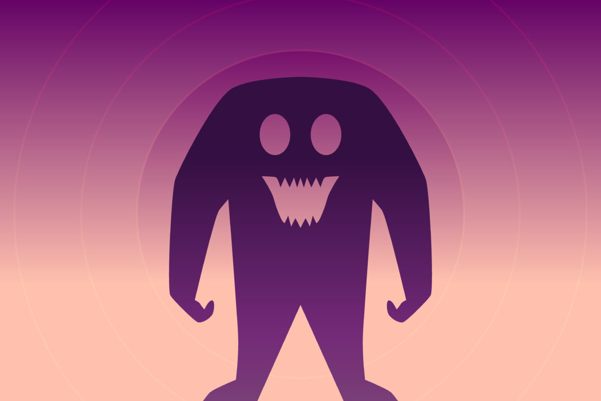 Cute Monster Free Stock Photo