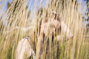 Woman in Field Free Photo