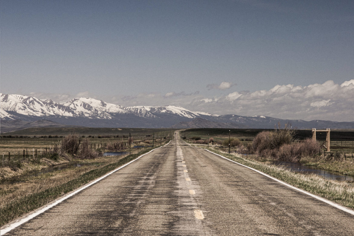 Empty Open Road Free Photo