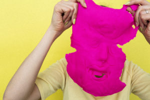 Happy Face Mask Free Photo