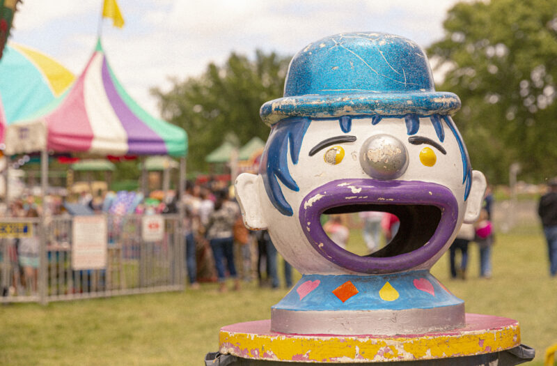 View Clown Face Free Stock Image