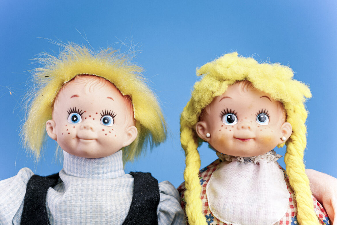 Doll Faces Free Stock Photo