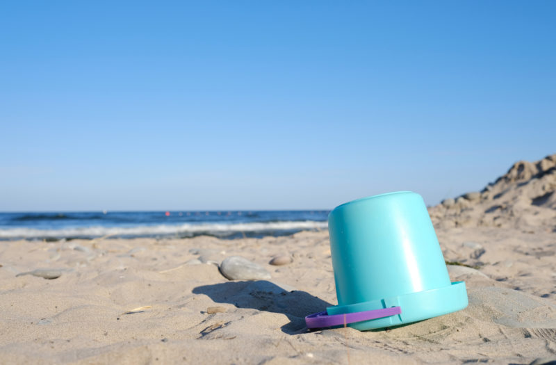 Beach Bucket Free Stock Photo