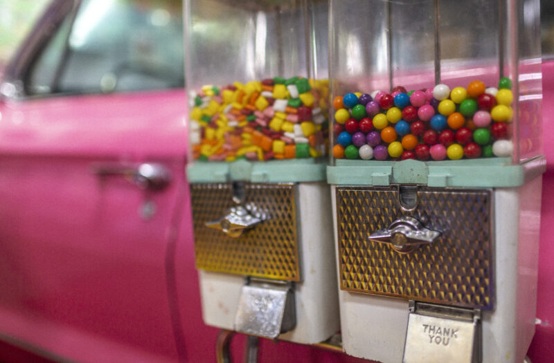 View Gum Ball Candy Free Stock Image
