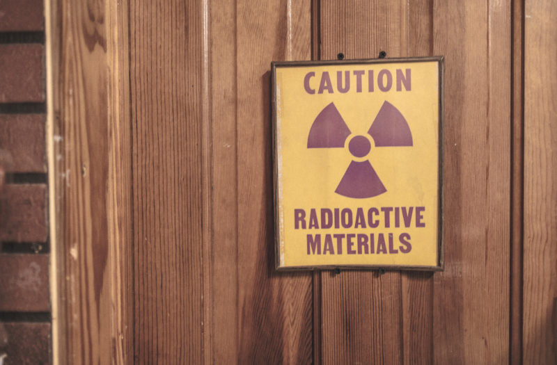 Radioactive Symbol Free Stock Photo