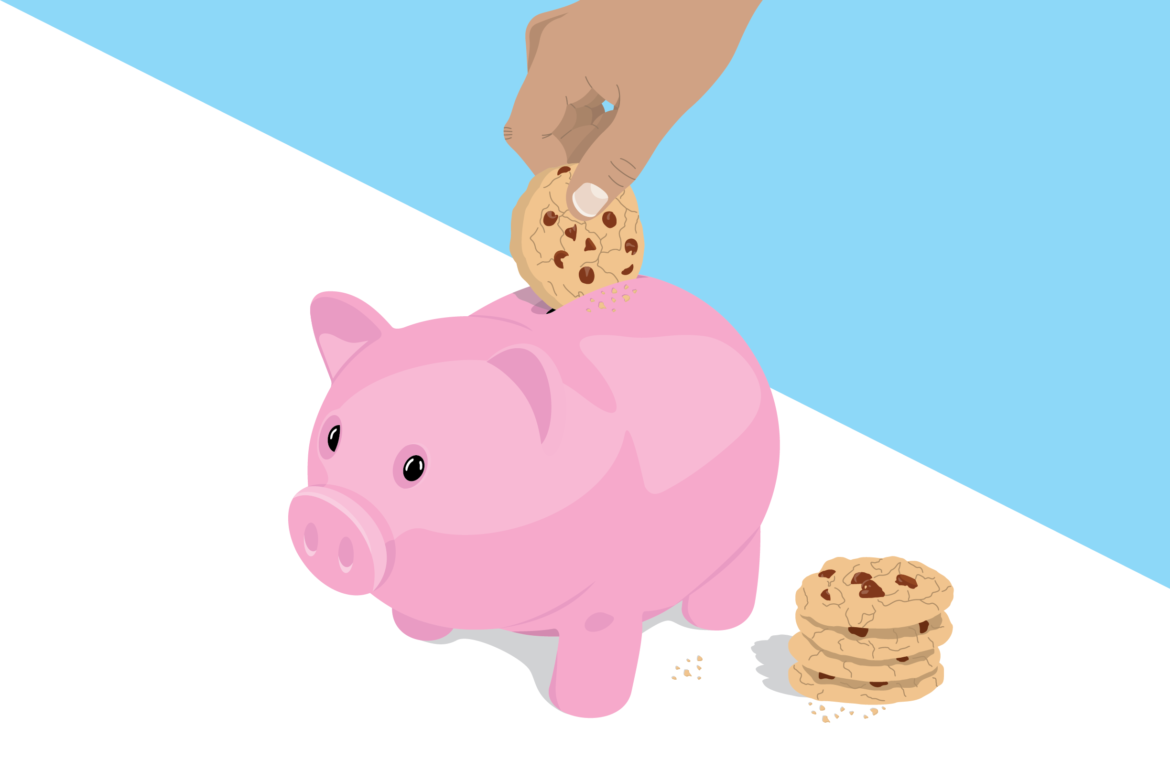 Cookie Bank Free Vector