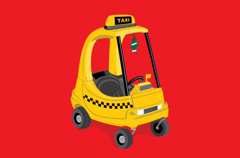 Mini Taxi Free Vector Free Photo