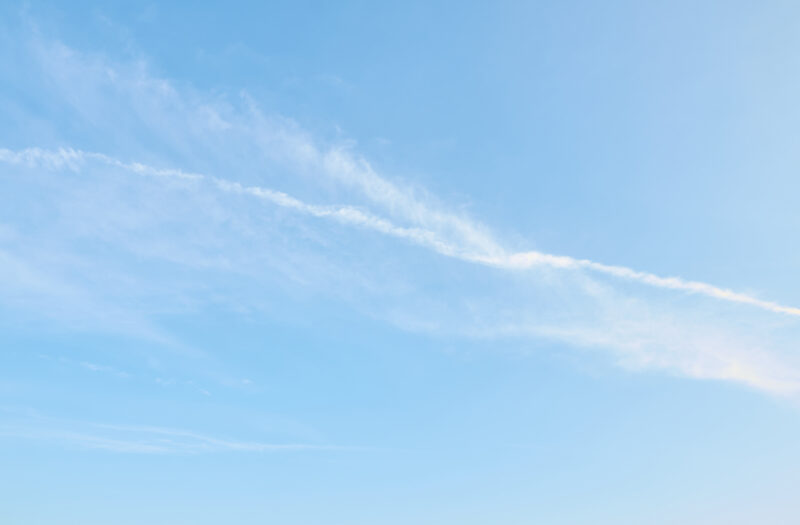 Wispy Cloud Sky Free Photo