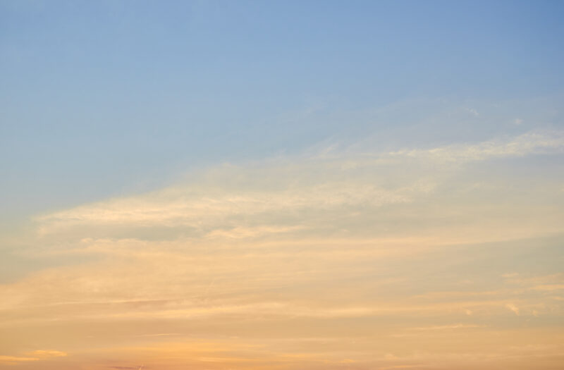 View Warm sky clouds Free Stock Image