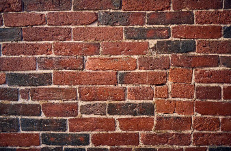 Brick Wall Background Free Stock Photo