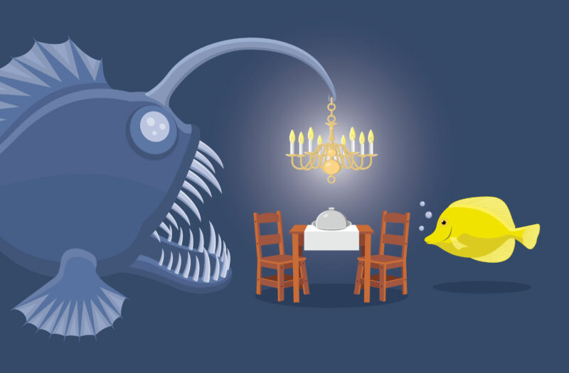 View Fish Dinner Free Stock Vector