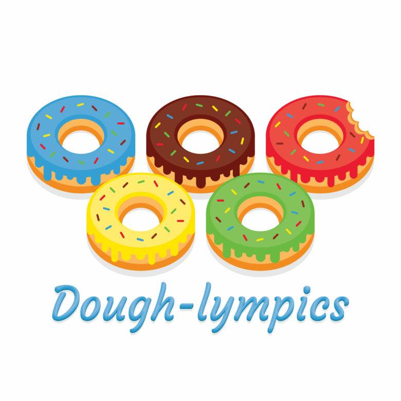 Frosted Donuts Free Stock Vector