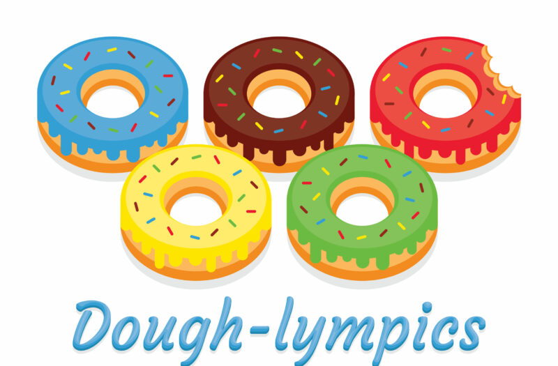 View Frosted Donuts Free Stock Vector