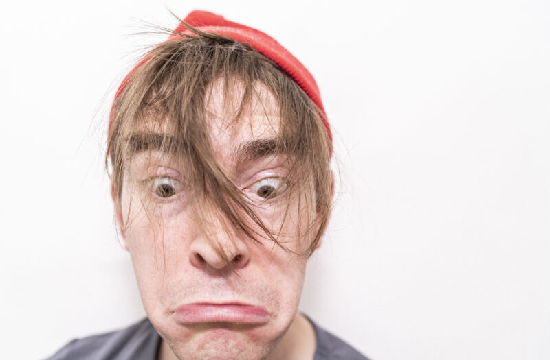 View Frown Face Man Free Stock Image