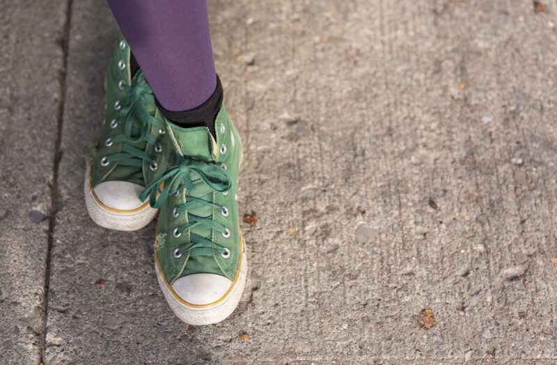 View Vintage Sneakers Free Stock Image