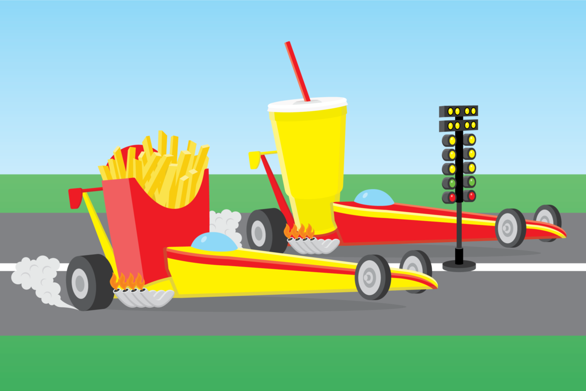 Fast Food Free Stock Vector