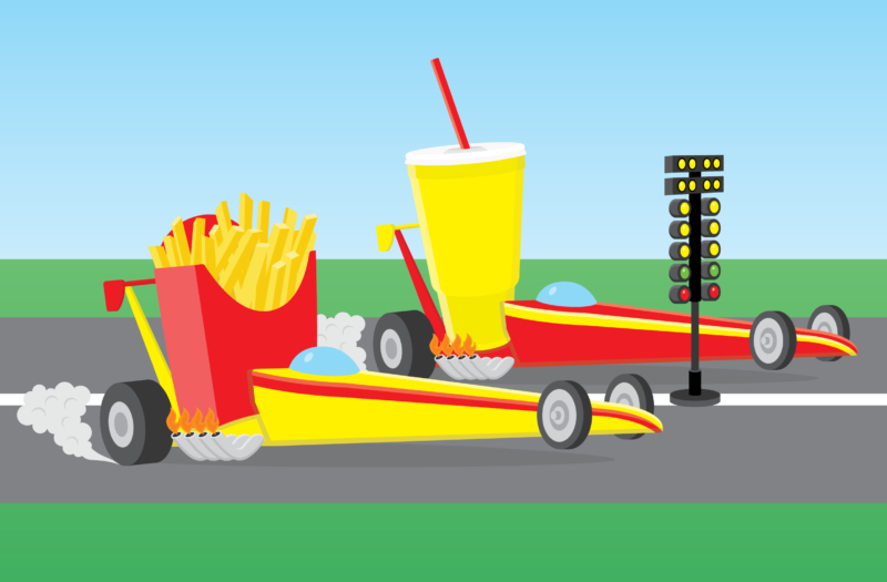 View Fast Food Free Stock Vector