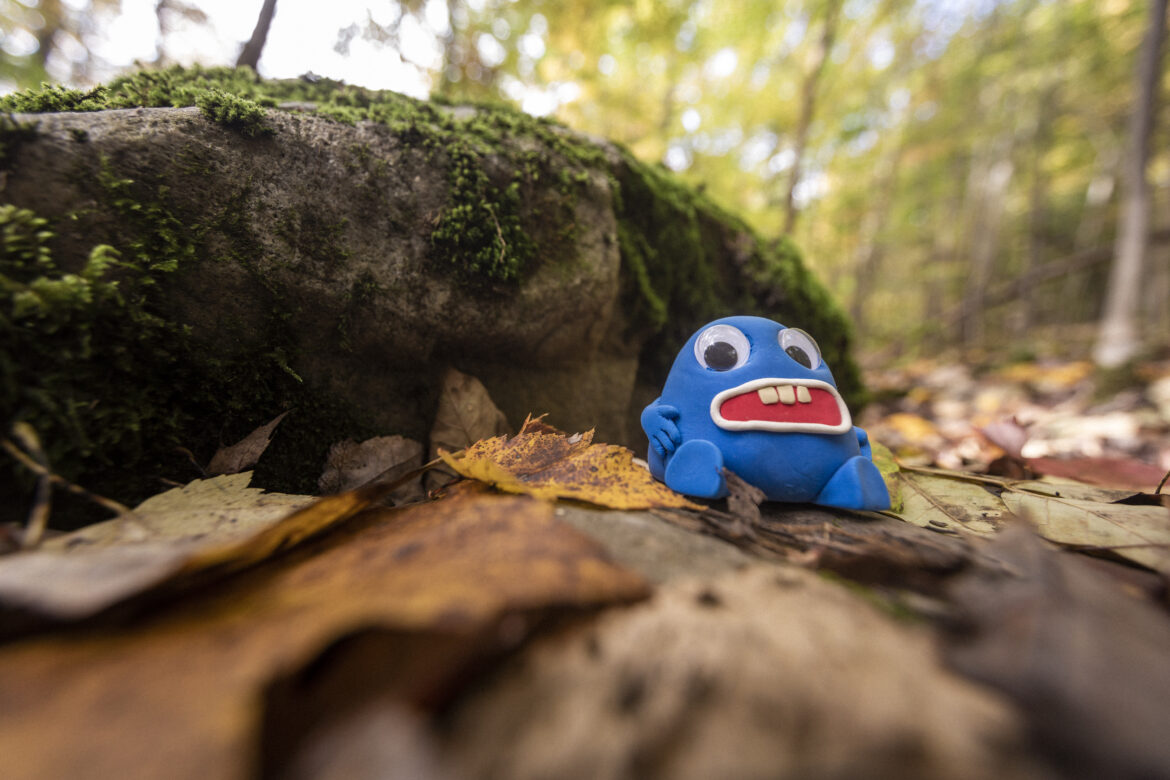 Funny Monster Toy Free Stock Photo